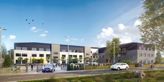 Nowa szkoła podstawowa 500m od Kampusu Zamienie